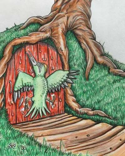 The Naughty Woodpecker